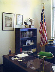 A view of the SUVCW National Headquarters office.